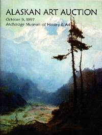 Alaska art auction catalog GREAT reference with PRICES