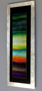 Metal Abstract Modern Painting Wall Art Decor Sculpture by Jon Allen JC3060