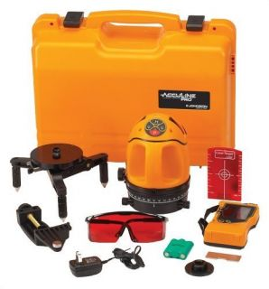 Johnson Level Tool Acculine Pro 40 6660 Multi Beam Self Leveling Laser Level