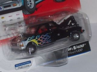 Johnny Lightning Rebel Rods 1 64 Tow Nado Ford F 550