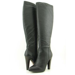 Steven Steve Madden Joss Black Boots Shoes Womens Sz 10
