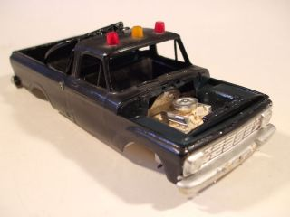 JUNKER PARTS ONLY PARTS AMT 1963 FORD PICKUP TRUCK MODEL KIT PARTS 63