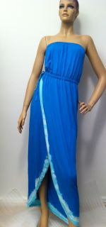 Gypsy 05 Keely Tube Maxi Dress in Cobalt Color