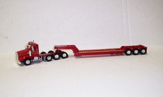 87 Scale Joel Olsen Kenworth T800W Day Cab wtih 3 Axle Cheater