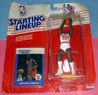 1988 MICHAEL JORDAN Chicago Bulls Rookie only 3 95 s h Starting Lineup