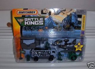 Matchbox 2008 Battle Kings Mountain Attack Set Mint BXD