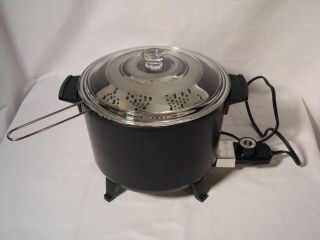 Presto Kitchen Kettle Pot Multi Cooker Deep Fryer Model 06000 04