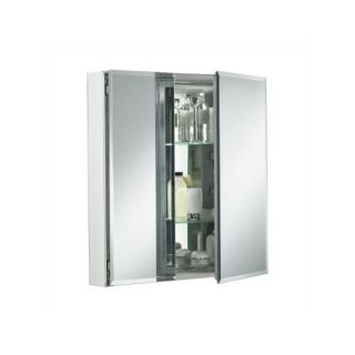 Kohler Double Door Cabinet Square Mirrored Chest Medicine Wall Mount