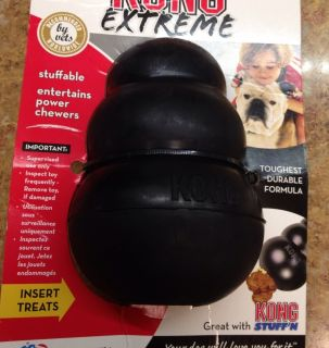 Kong Ultra Black XL Dog Toy