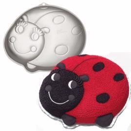 NEW WILTON LADY BUG CAKE PAN BEE BIRTHDAY PARTY CHILDREN MOLD 2105