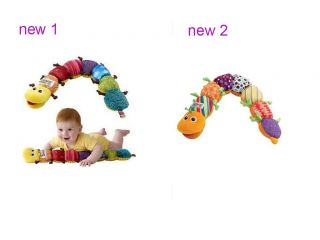 New Musical Inchworm Soft Developmental Baby Lovely Lamaze Toy