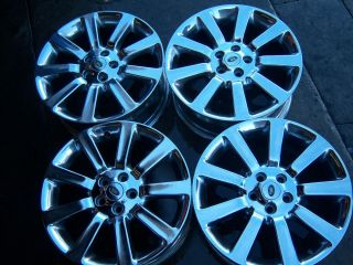 Land Rover Range Rover Supercharged Chrome Wheels
