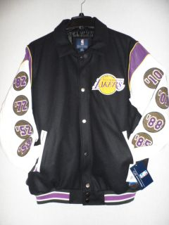Los Angeles Lakers NBA Championship Varsity Jacket