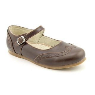 Lamour Y660 Youth Kids Girls Size 13 Brown Leather Mary Janes Shoes