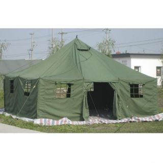 Large Army Military 11 Man Tent NATO Olive Green