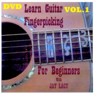 Learn How to Play Fingerpicking Guitar with DVD