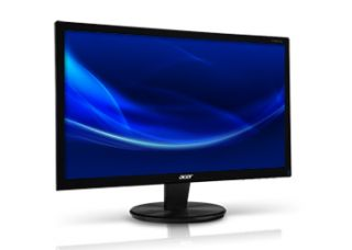 22 LED Backlit Acer P216HL LCD Monitor 1920x1080 Built in Speakers