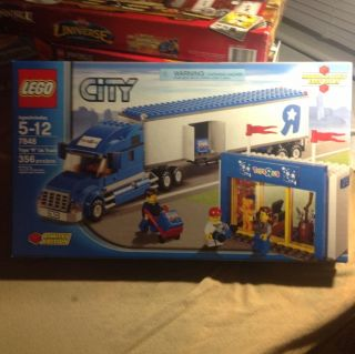 Lego City 7848 Toys R US Truck Toy Store Tractor Trailer MISB