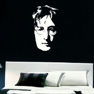 Large John Lennon Legend Bedroom Wall Art Sticker Transfer Graphic