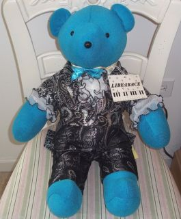 LIBERACE NORTH AMERICAN TEDDY BEAR Plush 20 RARE 1985 LIBEARACE w TAGS