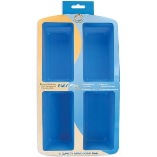 Wilton Silicone Easy Flex Mini Loaf Bread Cake Pan New