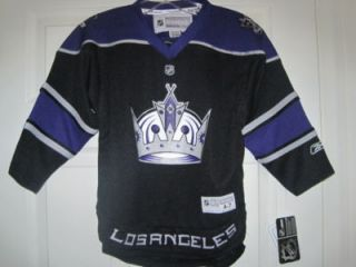 NHL Los Angeles Kings Home Hockey Jersey New Child 4 7