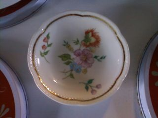 Italian China Decorative Plate Bowl