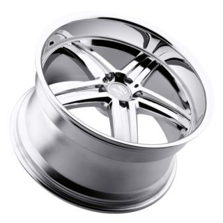 18 Staggered Mercedes Benz Mandrus Manheim Chrome Wheels 5x112 E C