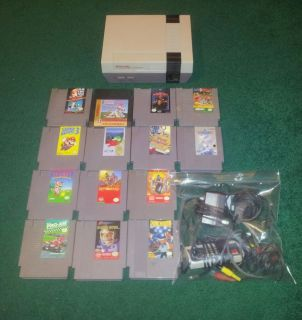 Game System Console NES 001 Super Mario Bros Duck Hunt 13 Other
