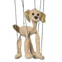 Baby Cocker Spaniel Dog Marionettes String Puppets New