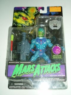 Mars Attacks Martian Trooper Action Figure Topps 1996