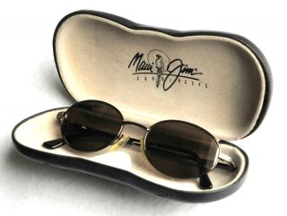 Maui Jim Sunglasses MJ 146 19 Coral Reef w Case Vintage Discontinued