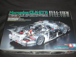 24 Tamiya Mercedes Benz CLK GTR Full View