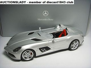 18 Minichamps Mercedes Benz SLR McLaren Stirling Moss Z199 2009