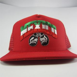 Vtg Chicano Vato Cholo Mexican Flag Boxing WBA Hispanic Mexico