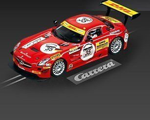 Carrera Mercedes Benz SLS AMG GT3 Blackfalcon 35 Slot Car 27403