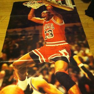 Nike Air Michael Jordan Poster Chicago Bulls SB