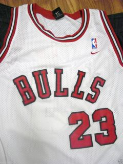 Nike Michael Jordan #23 Chicago Bulls NBA Authentic Jersey Mens XXXL
