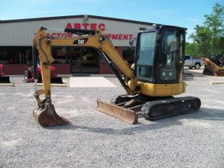 Caterpillar 303 5CCR Mini Excavator Loader Backhoe Watch Video