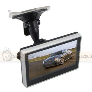 inch TFT LCD Color DVD Car Monitor Vehicle Mini Monitor CCTV