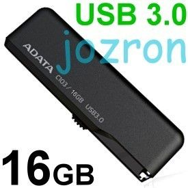 USB 3 0 Flash Pen Drive Memory Disk Mini Stick Classic Black