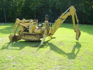 Magnatrac Crawler Mini Dozer Loader Backhoe Tracked Tractor