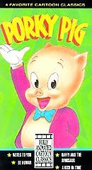 Cartoon Classics   Porky Pig VHS