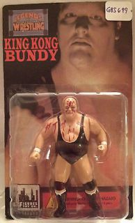 B12)   WWF WWE WCW LJN Figures Toy Company Wrestling   King Kong Bundy