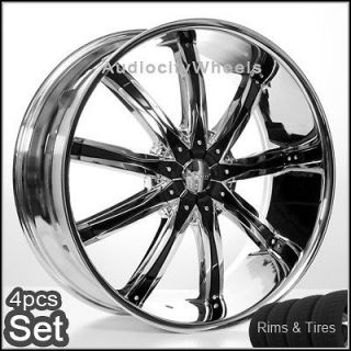 26inch Wheels&Tires Chevy Tahoe Ford Escalade Rims
