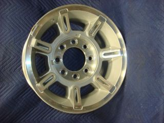 GM CHEVY 8 LUG ALUMINUM WHEEL 17X8.5 TRUCK HD 2500 3500