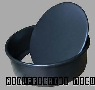 New 8 inch round thicker nonstick bakeware chiffon mold cake pan Free