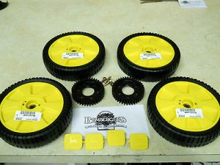 john deere mower wheels