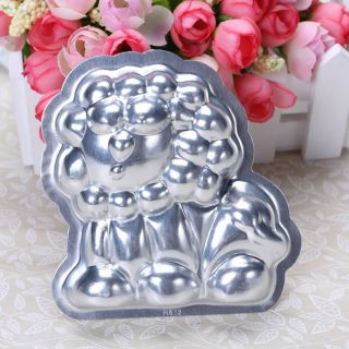 3D Lion Aluminum 3.54 Cake Pan Jello Pudding Mould Mold Tin DIY Tools
