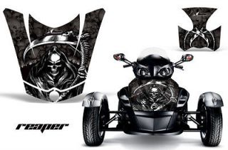 AMR RACING GRAPHIC DECAL BRP CANAM SPYDER RS HOOD & REAR FENDER